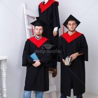 Мантии для выпускников магистров - габардин