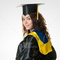 Мантия с украинской символикой