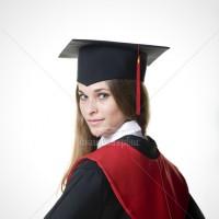 Габардинова академічна мантія випускника магістра