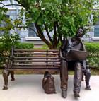 В Харькове «прикрутили» памятник студенту-айтишнику