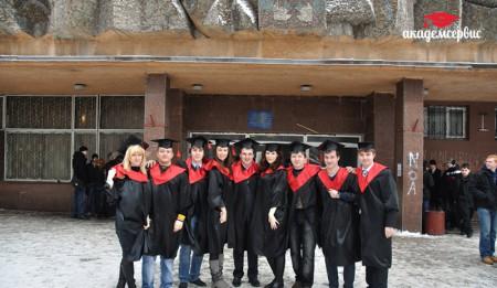 Мантии для выпускников в ДНТУ